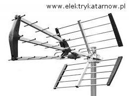 montaż anteny